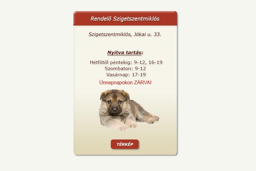 Kedvenc Állatorvosi Rendelő